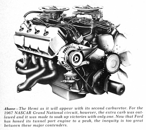426 Dodge Hemi engine